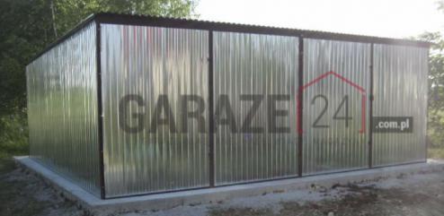 Garaz 6x5 dwustanowiskowy*wybierz jakość*PRODUCENT