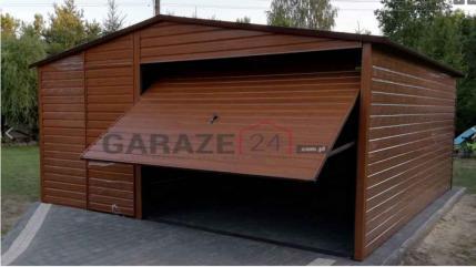 Garaże blaszane producent * Różne wymiary i kolory