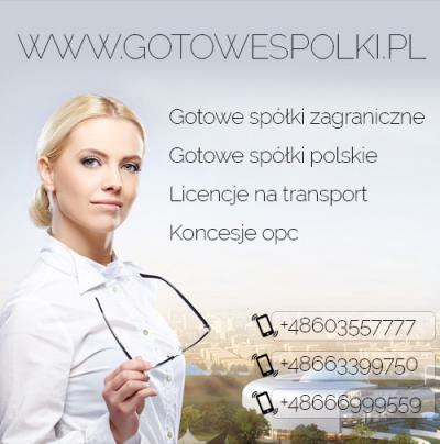 Gotowe Spółki Łotewskie, Słowackie, Czeskie