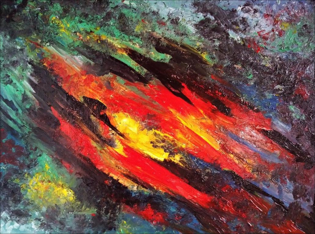 Kompozycja Abstrakcyjna - Sprzedam