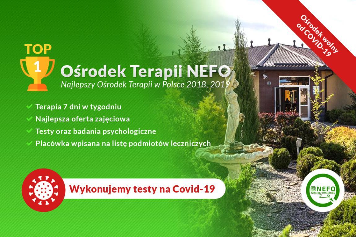 Najlepszy Ośrodek Terapii w Polsce-Ośrodek Nefo