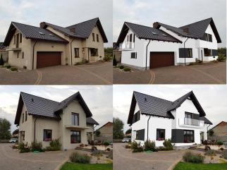 Projekt elewacji / wizualizacja domu / remont