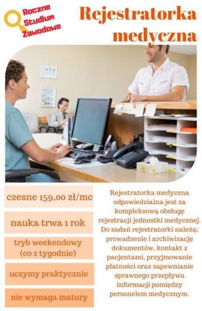 Rejestratorka medyczna - zapraszamy do zapisu!
