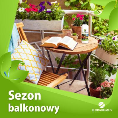 Rozpoczynamy sezon balkonowy z FLORAHUMUS