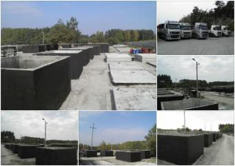 Szamba szambo betonowe zbiorniki betonowe na deszc